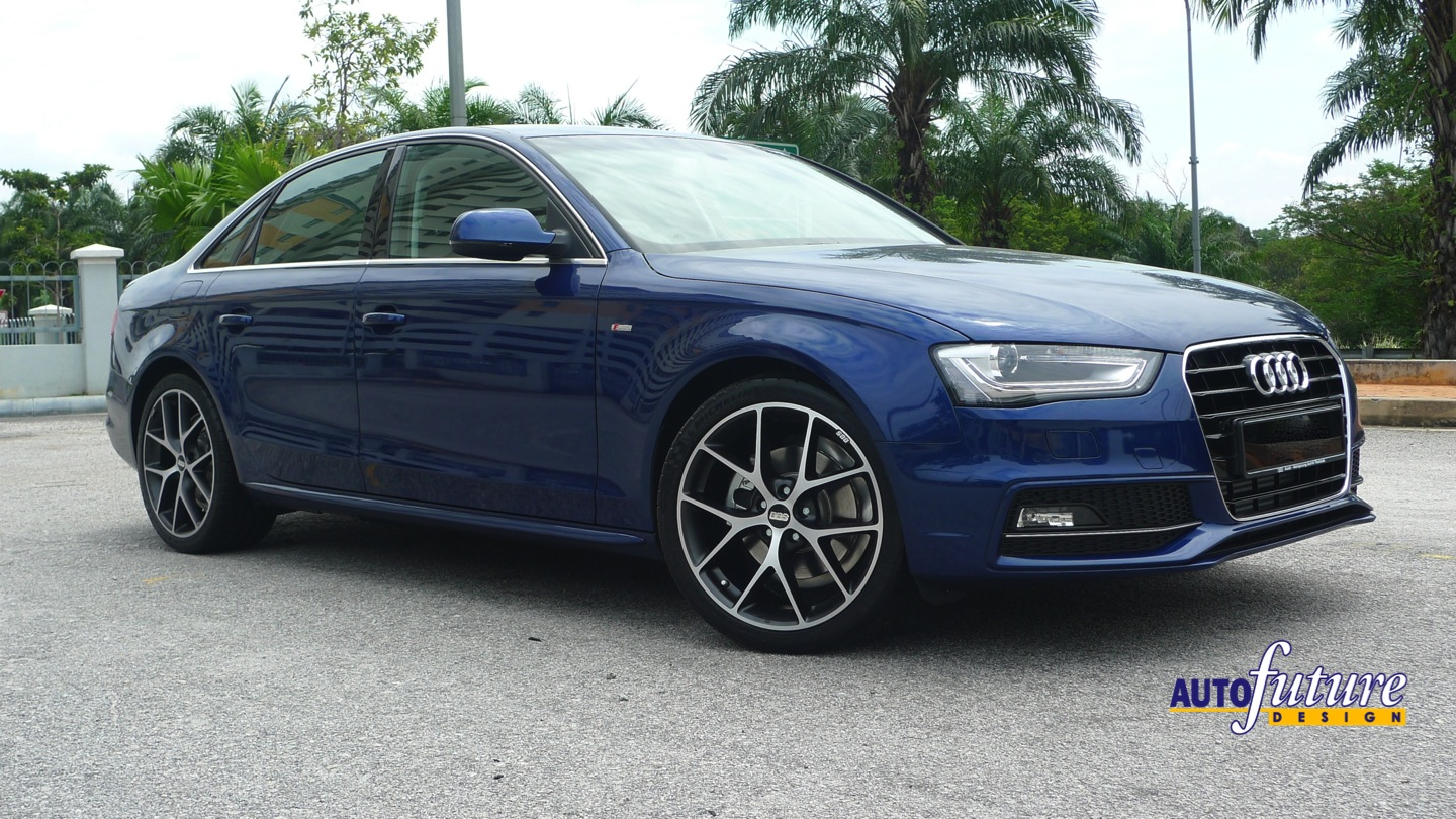 Audi A4 With The Latest Bbs Sr Wheels Autofuture