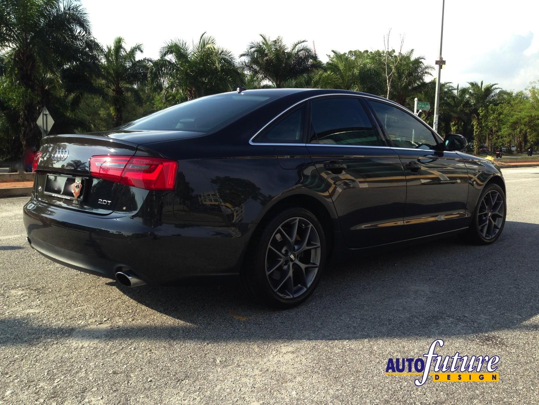 Audi A6 With Bbs Sr Wheels Autofuture Design Sdn Bhd