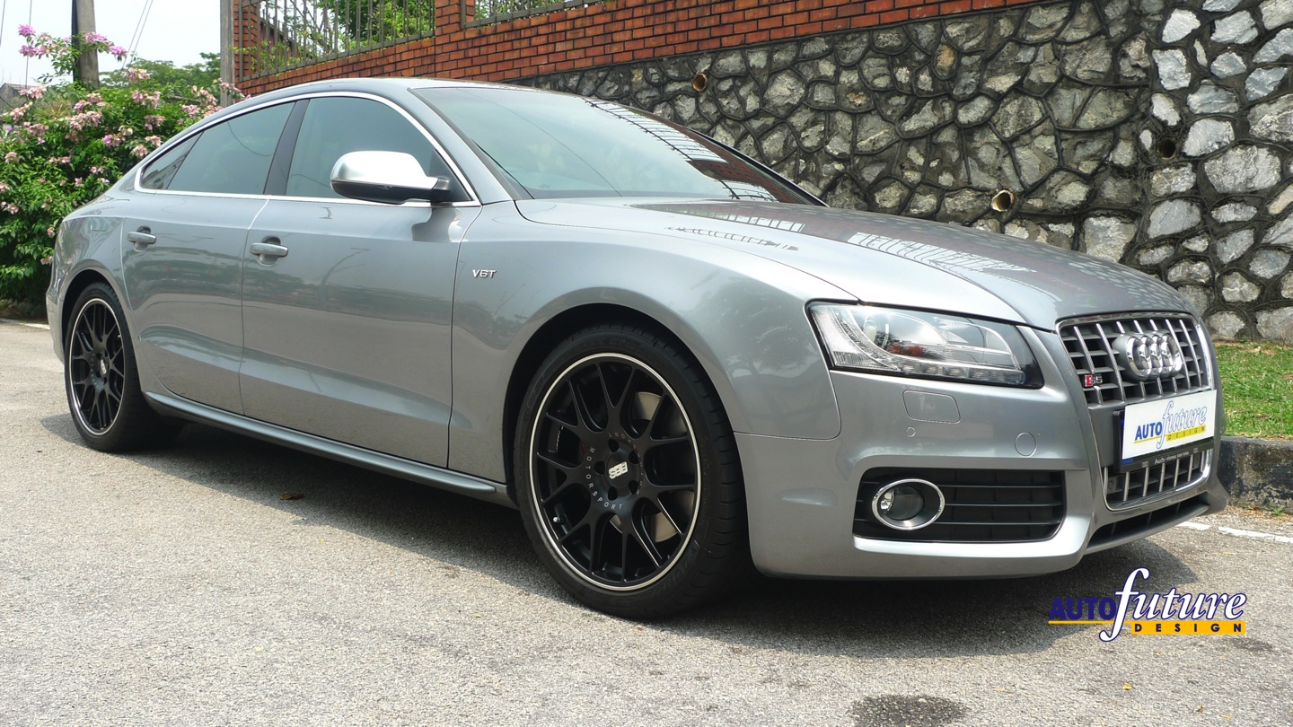 audi s5 sportback with bbs ch r wheels autofuture design. Black Bedroom Furniture Sets. Home Design Ideas