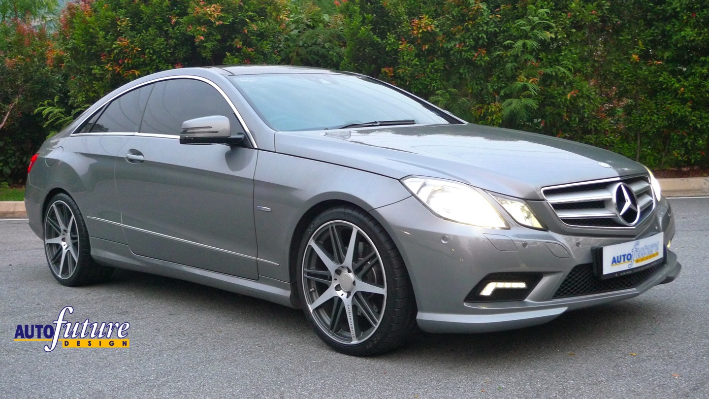 Mercedes Benz E Coupe W207 Transformed With Light Alloy