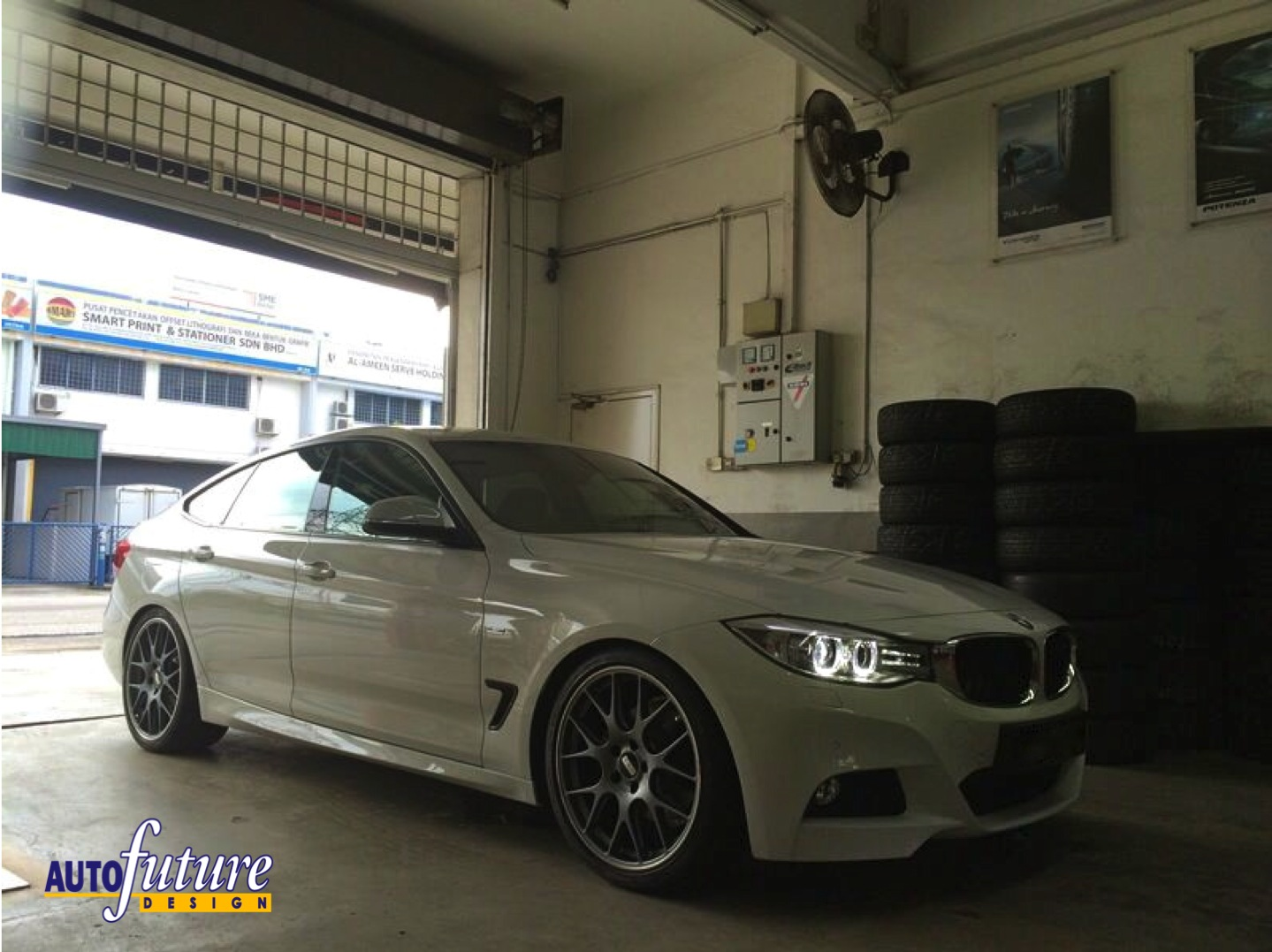 bmw f34 gt installed with bbs ch r wheels using flow. Black Bedroom Furniture Sets. Home Design Ideas