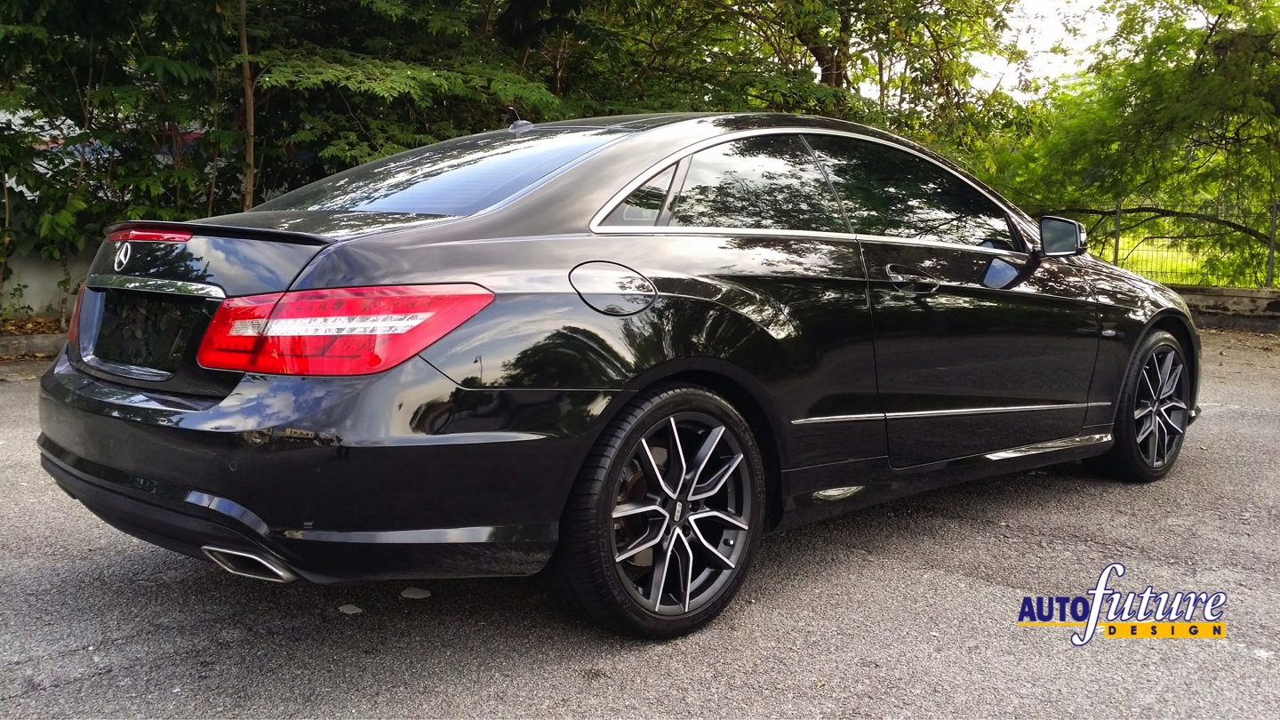 """Us Auto Sales Payment >> Mercedes E Coupe W207 with BBS """"XA"""" Wheels 