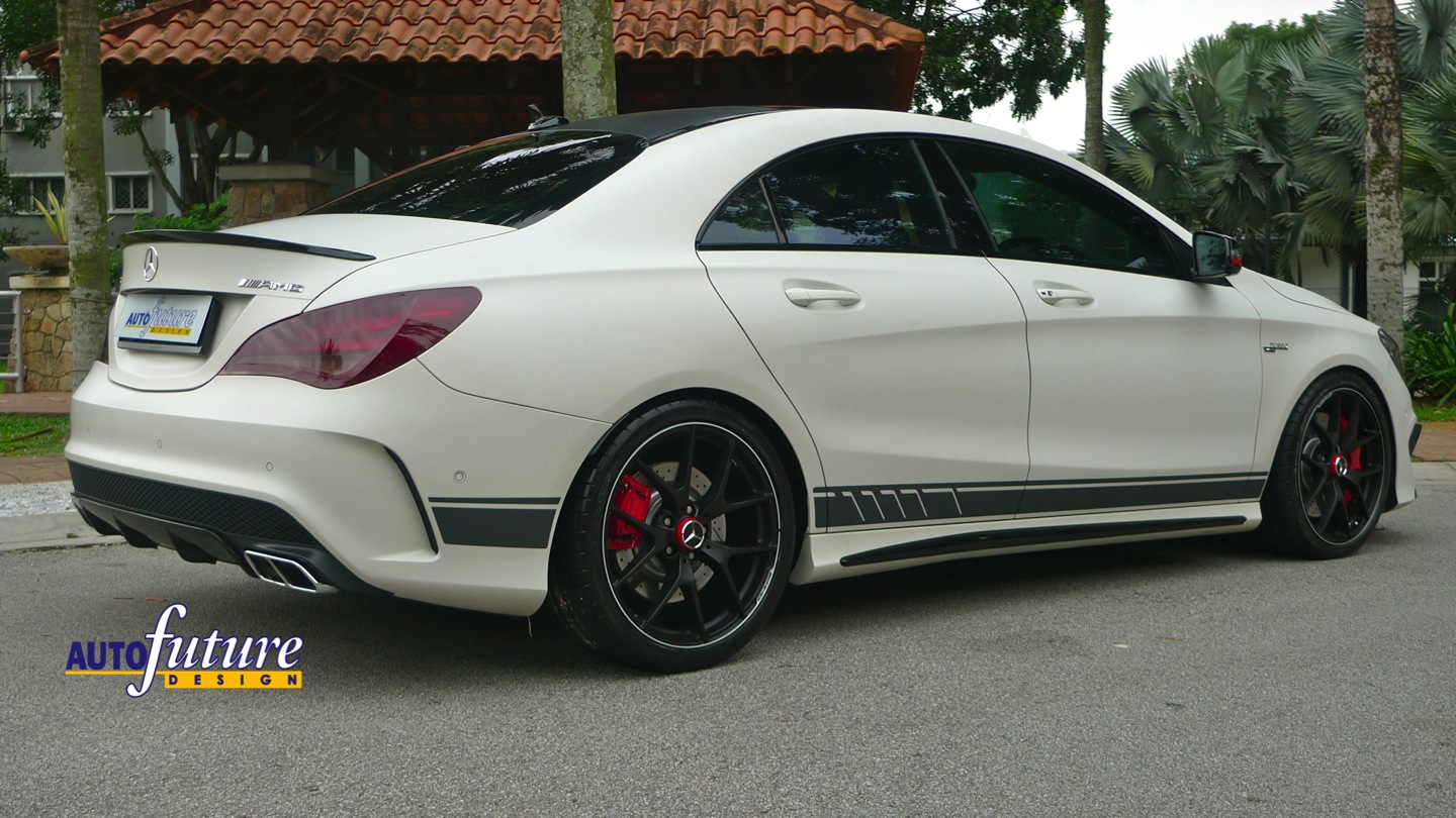 Edition 507 Amg Forged Wheels Installed On Amg Cla45