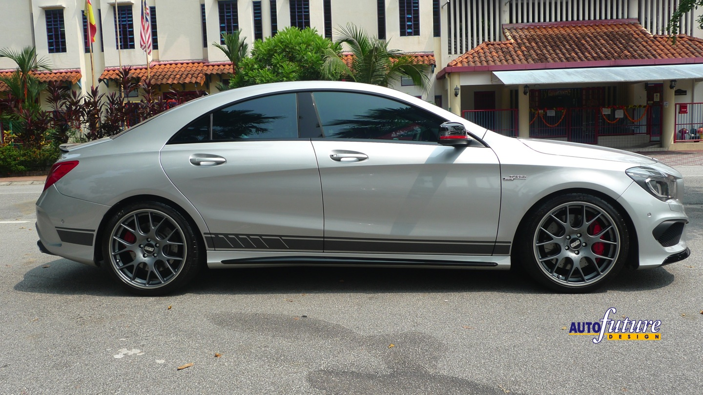Locate My Car >> AMG CLA45 with BBS CH-R Wheels | Autofuture Design SDN BHD