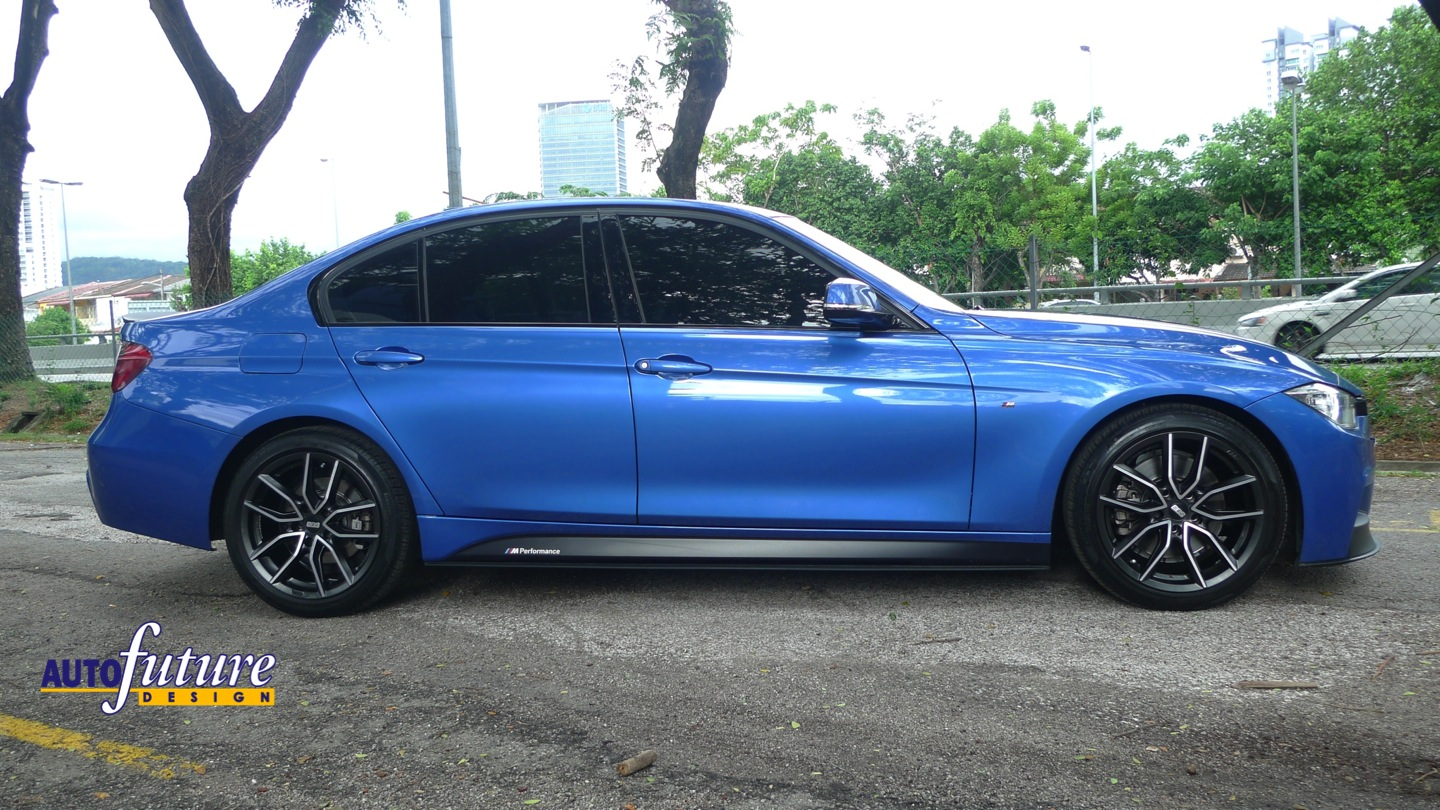 Bmw F30 M Sport Equipped With Bmw M Performance Accessories And Bbs Xa Wheels Autofuture
