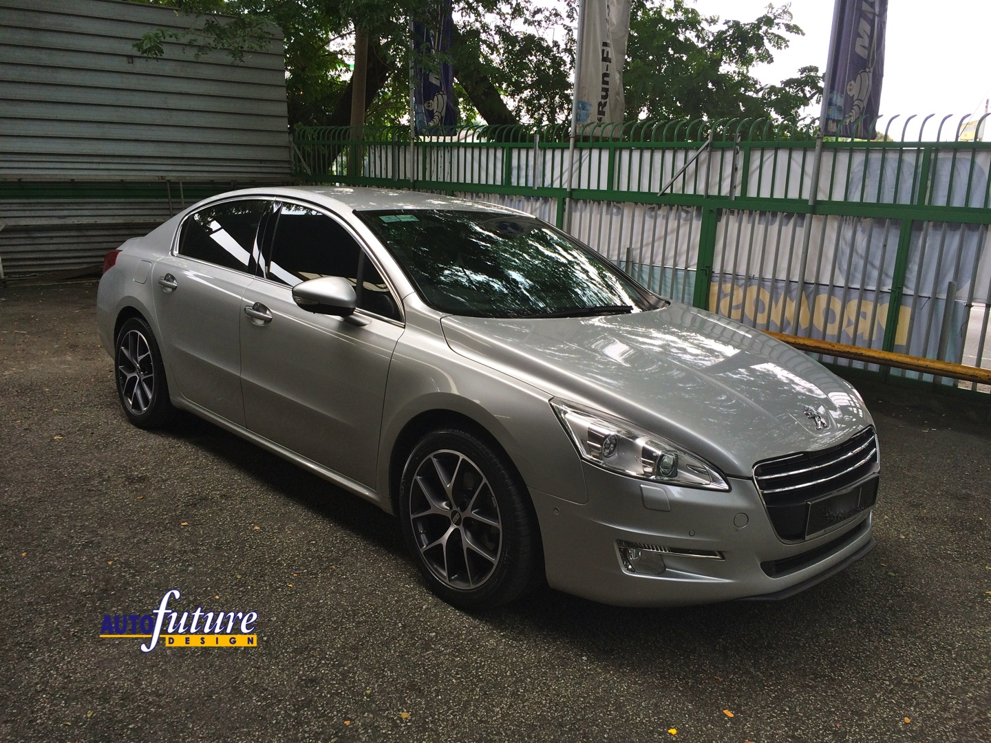Peugeot 508 With Bbs Sr Wheels Autofuture Design Sdn Bhd