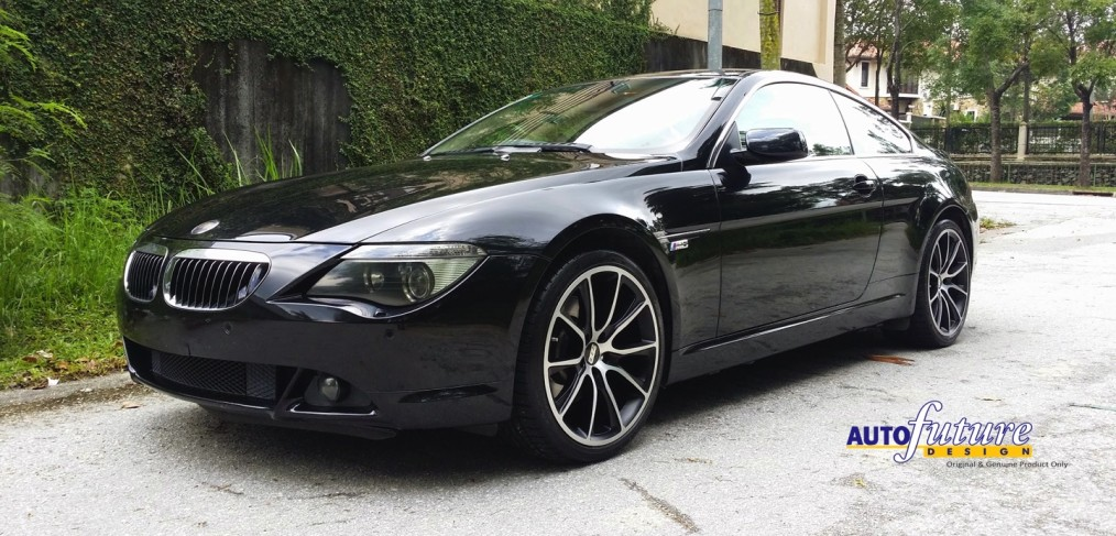 bmw e63 645i equipped with bbs sv wheels autofuture design sdn bhd. Black Bedroom Furniture Sets. Home Design Ideas