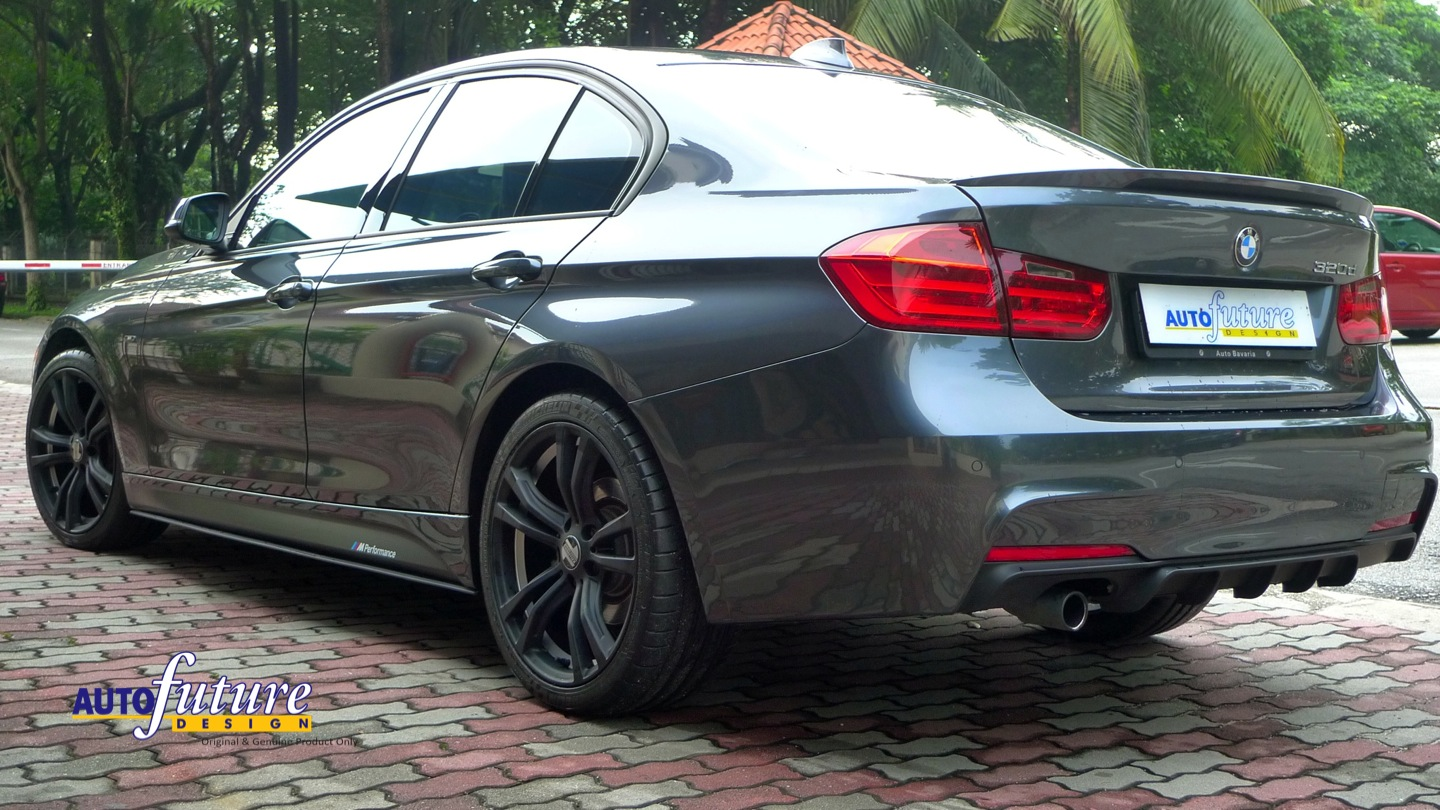 Bmw F30 With Kelleners Sport Munich Wheels And Some Bmw Performance Accesories Autofuture Design Sdn Bhd