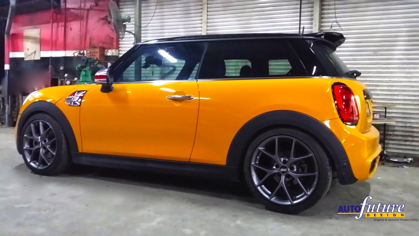 Mini F56 With Bbs Sr Wheels Autofuture Design Sdn Bhd