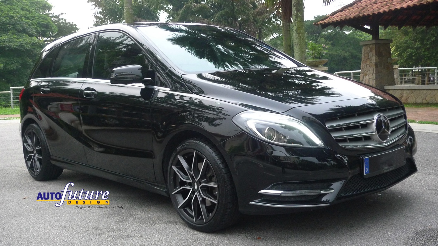 Mercedes benz b class installed with 100 made in germany for Mercedes benz made in germany