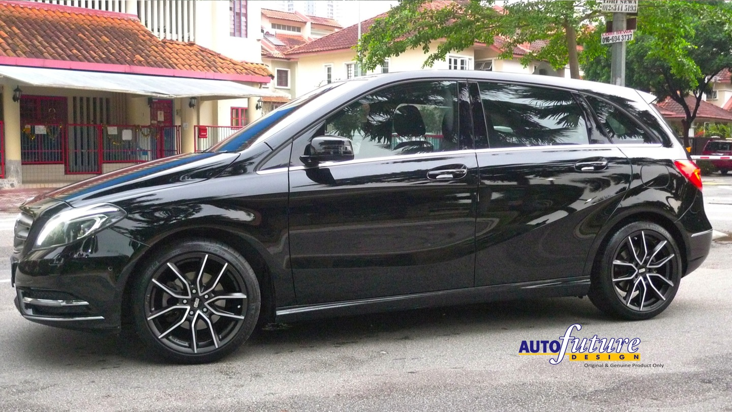 """Diamond Auto Sales >> Mercedes Benz B Class installed with 100% Made in Germany BBS """"XA"""" Wheels 