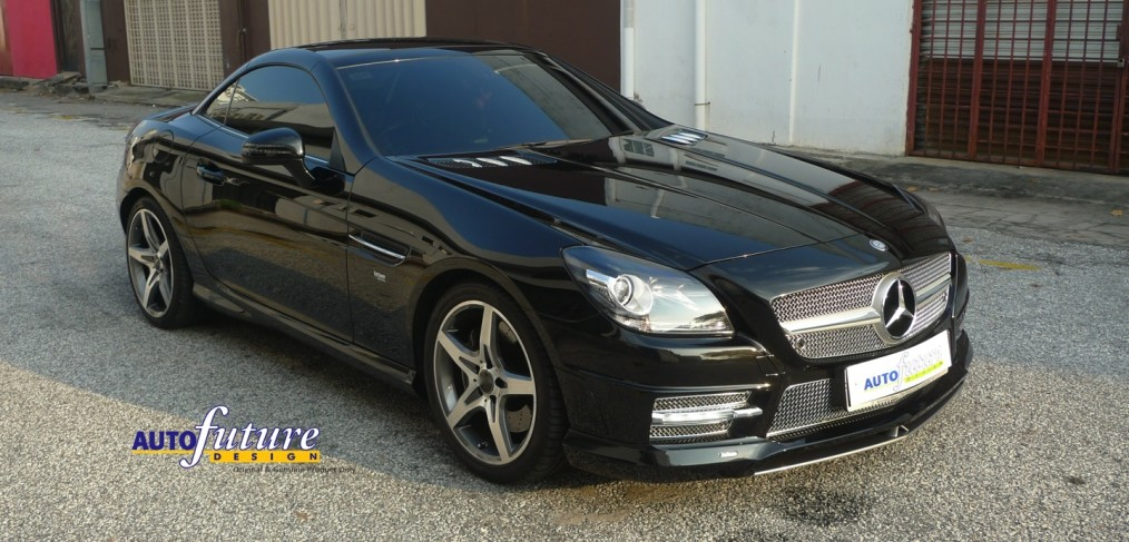 Carlsson tuning parts for the mercedes benz r172 slk for Mercedes benz tuning parts