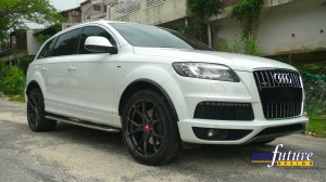 Audi Q7 Vorsteiner V-FF 103 Front Right Three Quarter