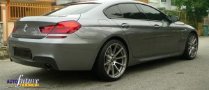 Vorsteiner V-FF 102's Equipped On The BMW 6-Series Gran Coupe