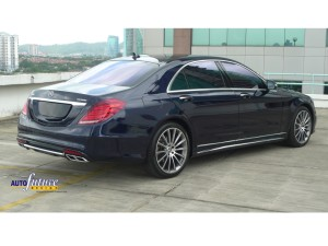 Mercedes-Benz S400 Makeover With The S65 AMG Body Kit & AMG Multi Spoke Alloys