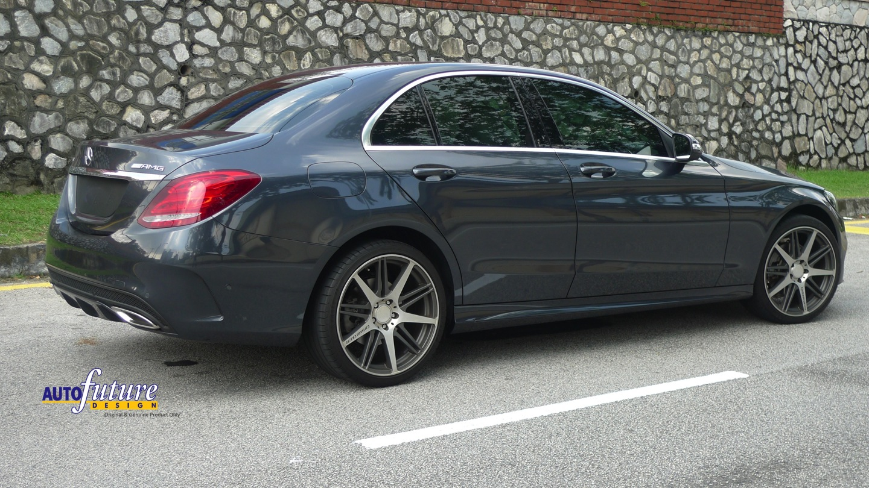 Mercedes benz w205 c200 amg makeover carlsson cr1 10 for Mercedes a klasse amg interieur