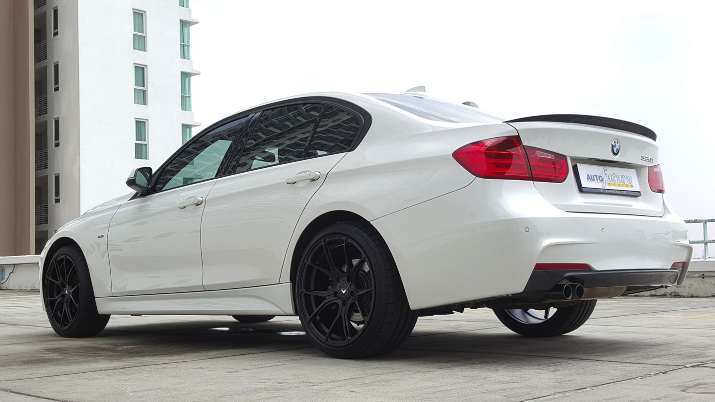 A Major Impulse Bmw F30 320i Equipped With A Full M Sport Body Kit