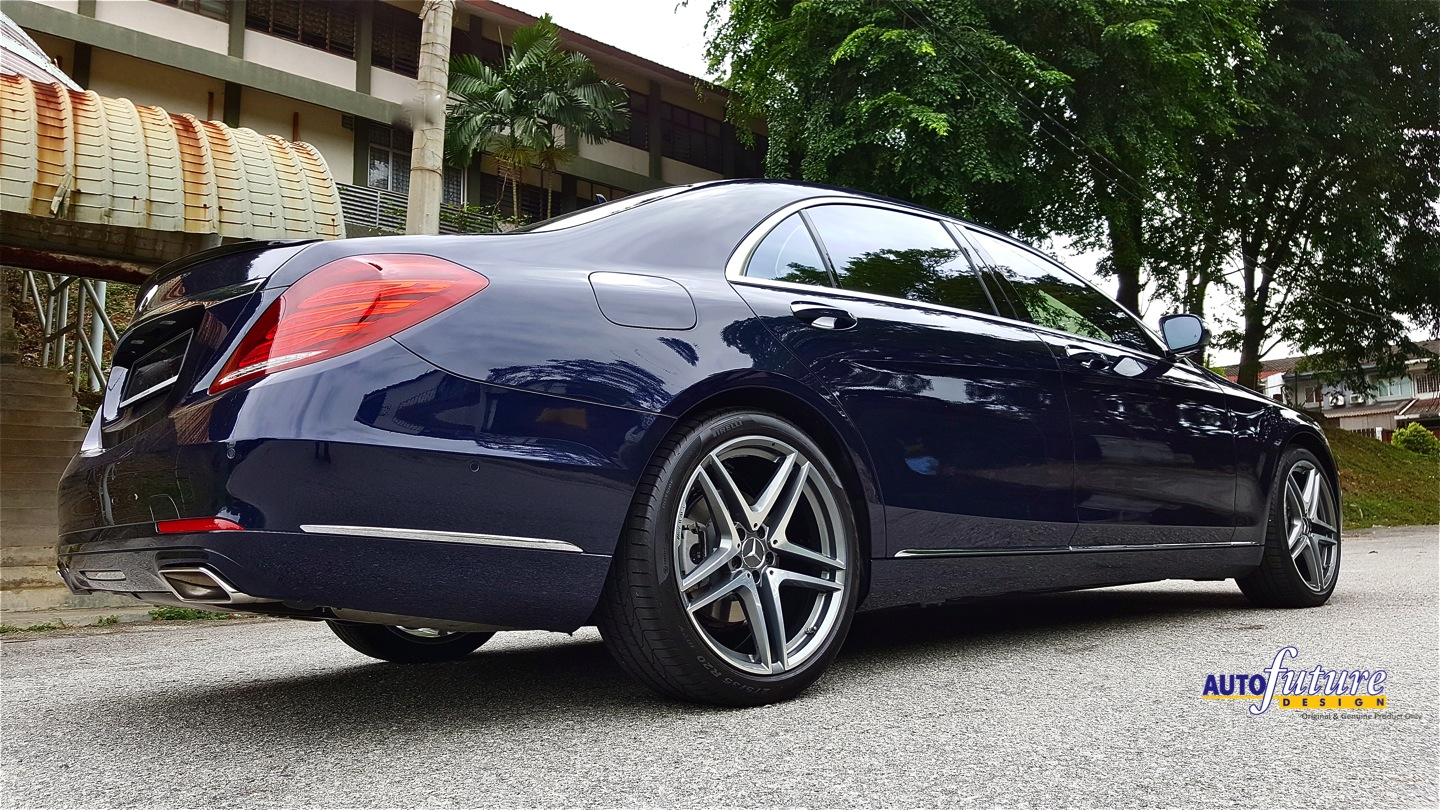 Forged luxury mercedes benz s klasse equipped with forged for Mercedes benz wheel