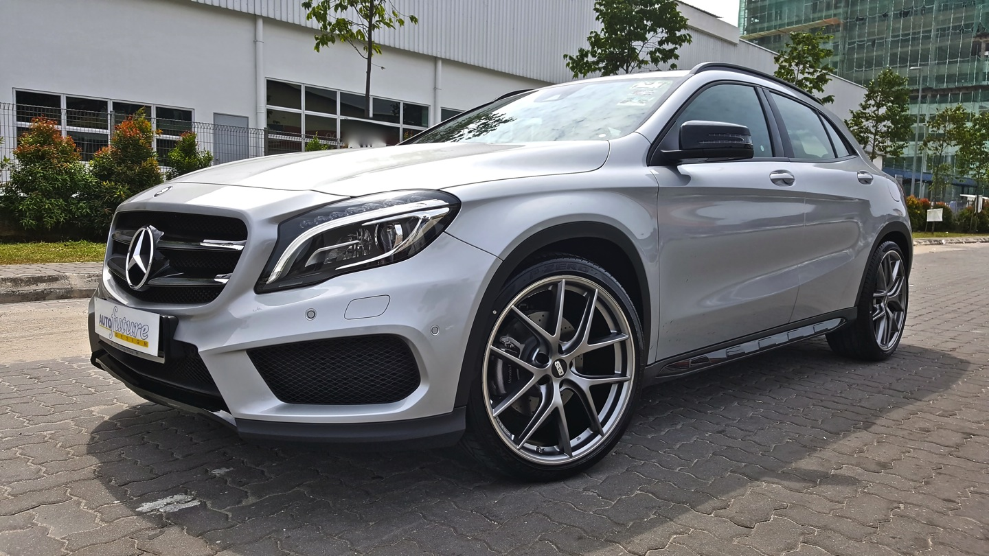 unquestionable aesthetics mercedes benz gla equipped with. Black Bedroom Furniture Sets. Home Design Ideas