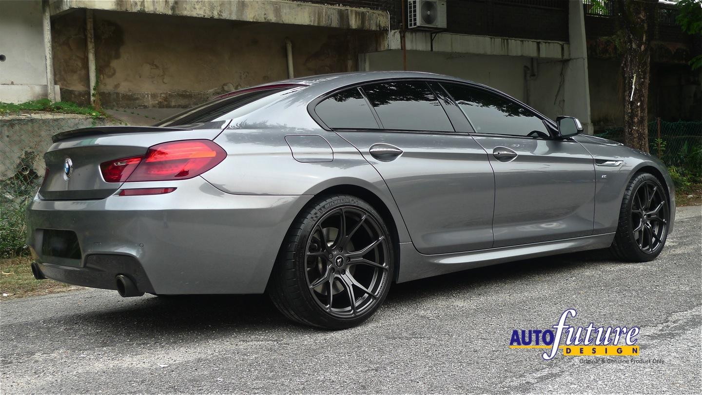 Coupe Beauty Bmw 6 Series Gran Coupe Equipped With