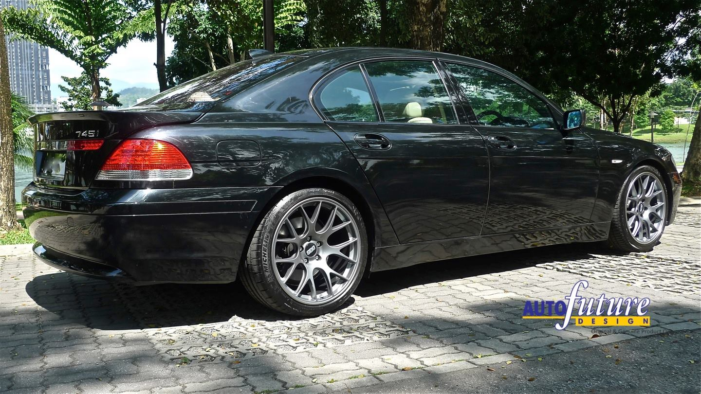 bmw e65 7 series equipped with bbs ch r wheels. Black Bedroom Furniture Sets. Home Design Ideas