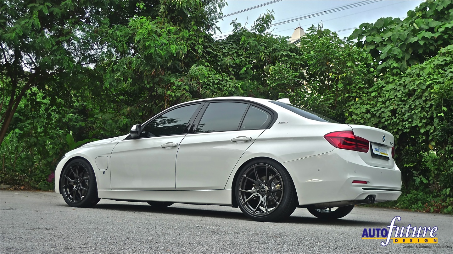 edrive power bmw f30 330e hybrid equipped with vorsteiner v ff 103 s autofuture design sdn bhd. Black Bedroom Furniture Sets. Home Design Ideas