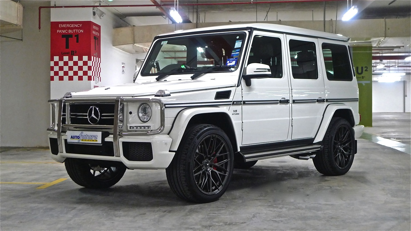 amg rarity mercedes benz g63 amg wagon equipped with vorsteiner v ff 107 wheels autofuture. Black Bedroom Furniture Sets. Home Design Ideas