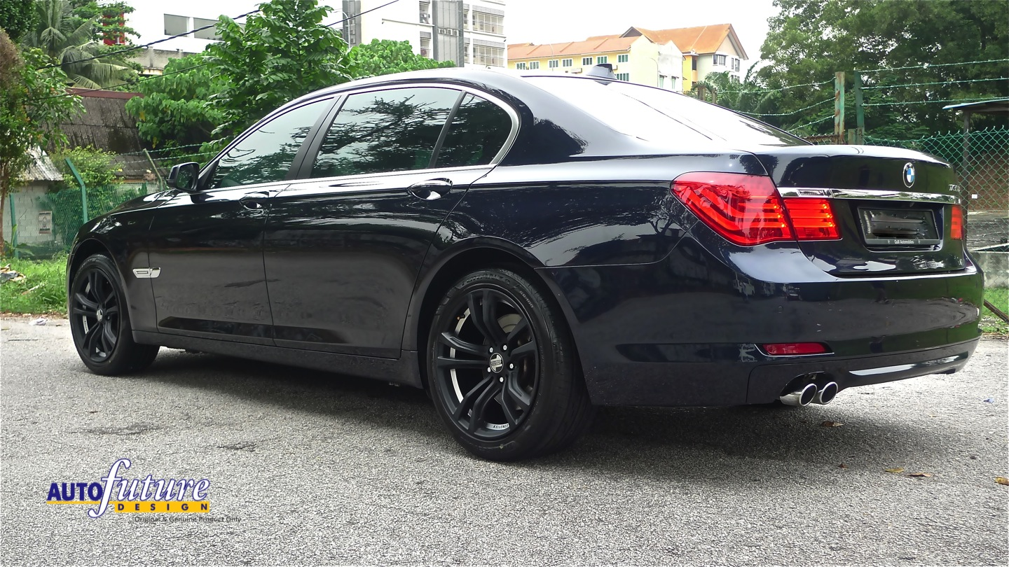 kelleners sport feature bmw f02 7 series equipped with kelleners sport munchen wheels. Black Bedroom Furniture Sets. Home Design Ideas