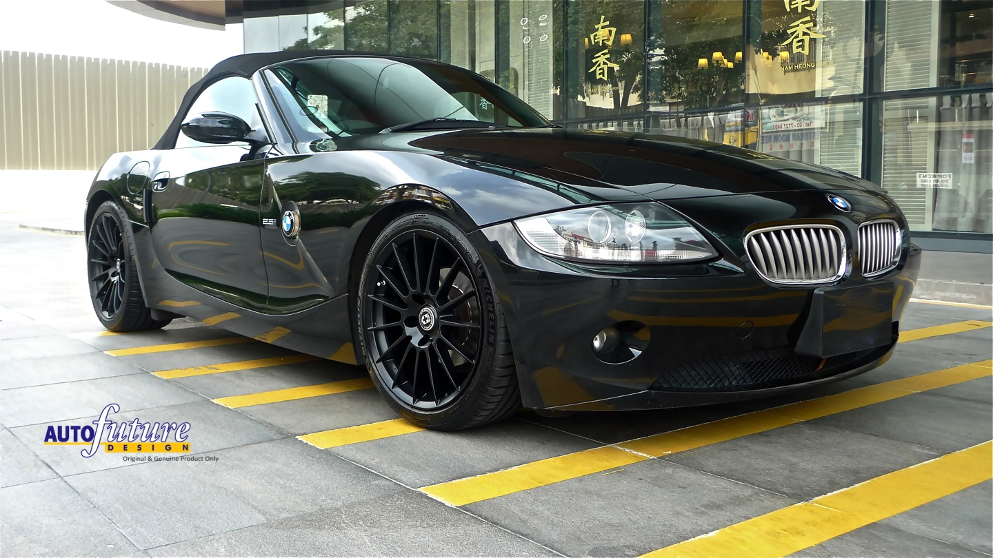 A Roadster S Appeal Bmw Z4 Equipped With Hre Flowform Ff15 Wheels Autofuture Design Sdn Bhd