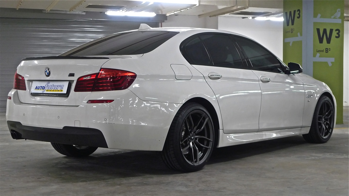 making an m sport better bmw f10 5 series equipped with vorsteiner v ff 105 alloys. Black Bedroom Furniture Sets. Home Design Ideas