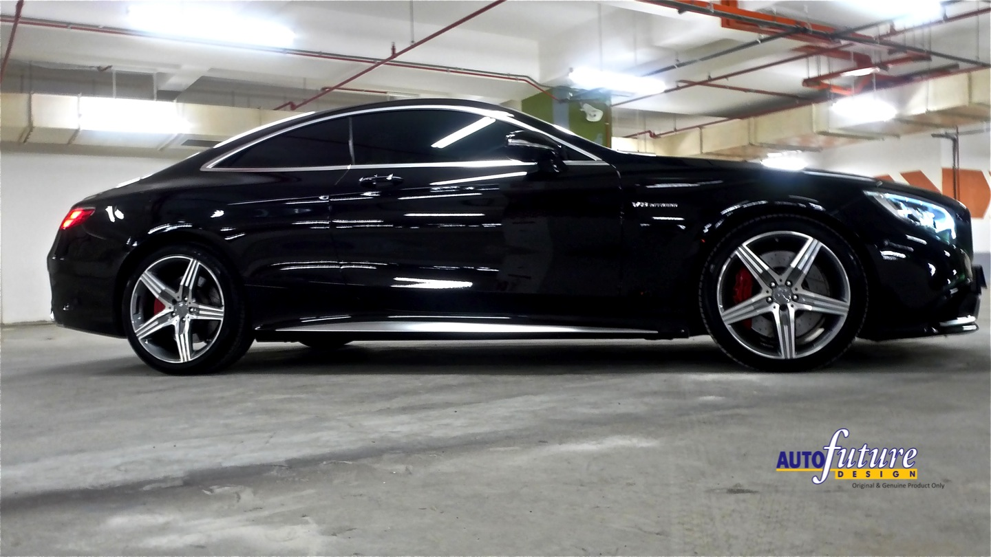2017 S550 Coupe >> A Rarified AMG: Mercedes-AMG S63 S-Class Coupe Equipped With 5-Spoke AMG Wheels! | Autofuture ...