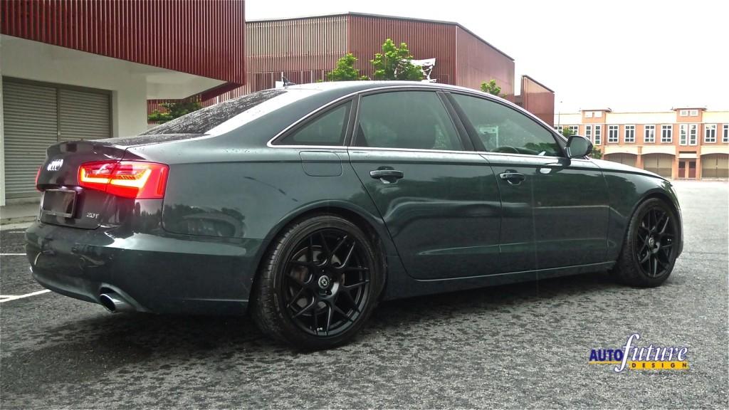 Audi A6 HRE FF01 4