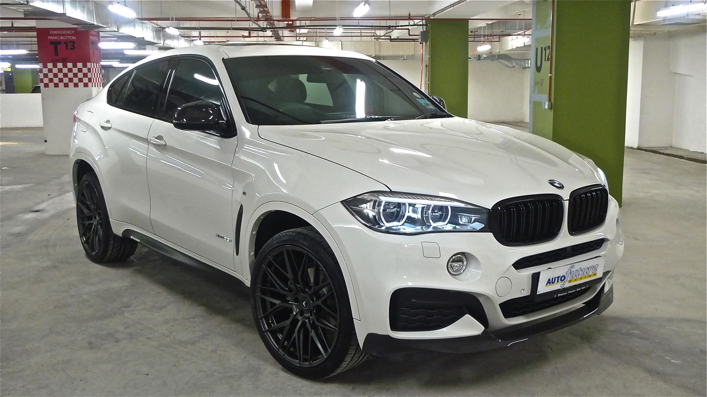 bmw f16 x6 equipped with vorsteiner v ff 107 wheels autofuture design sdn bhd. Black Bedroom Furniture Sets. Home Design Ideas