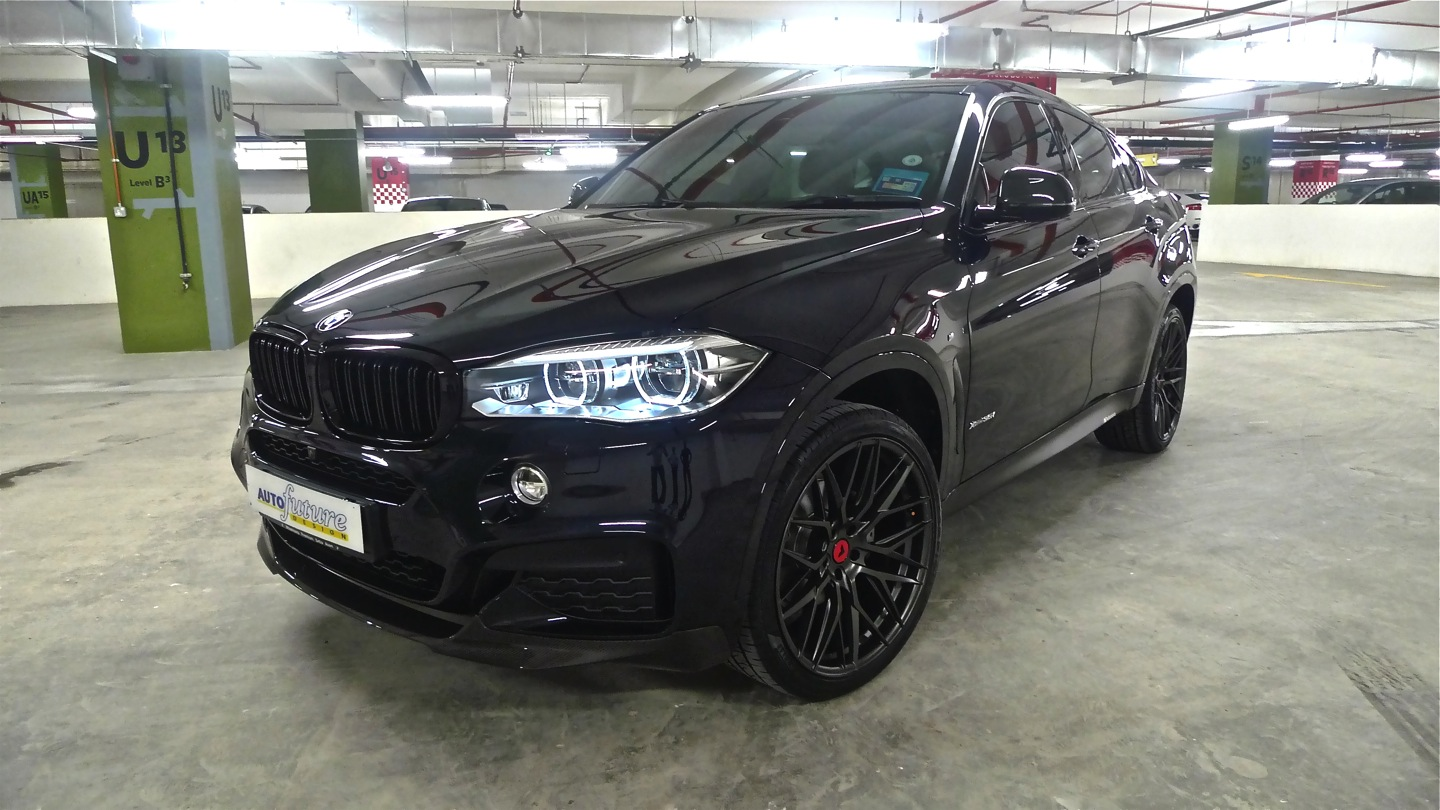 Top Of The Line Bmw X6 Xdrive 35i Equipped With Vorsteiner V Ff 107 Wheels Autofuture Design Sdn Bhd