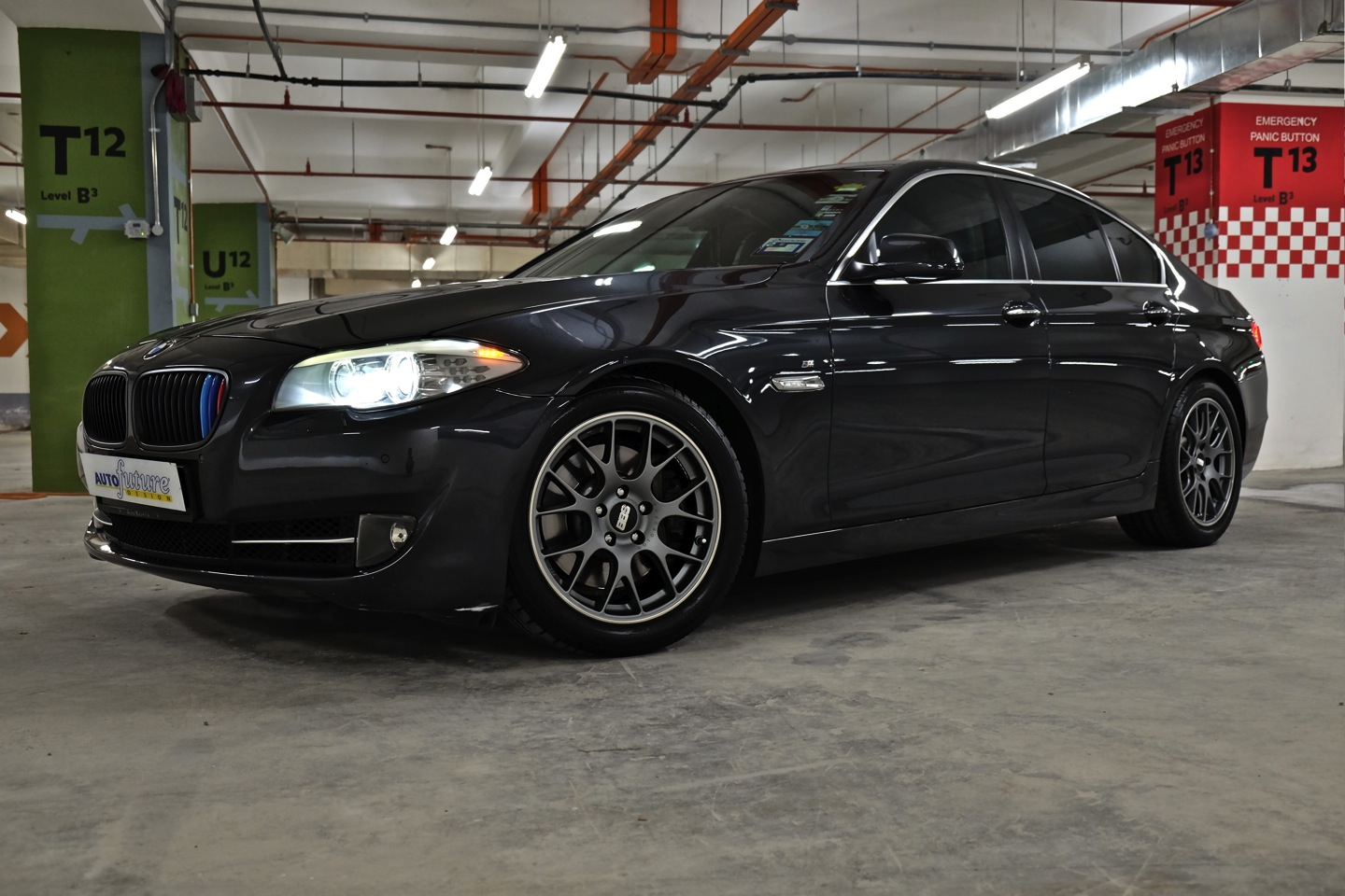 Undersized Amp Aggressive Bmw F10 535i Equipped With Bbs Ch