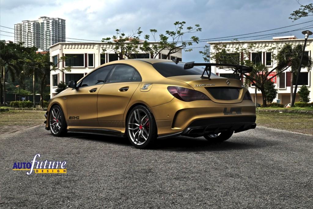 Mercedes-AMG CLA45 Gold V-FF 105 4