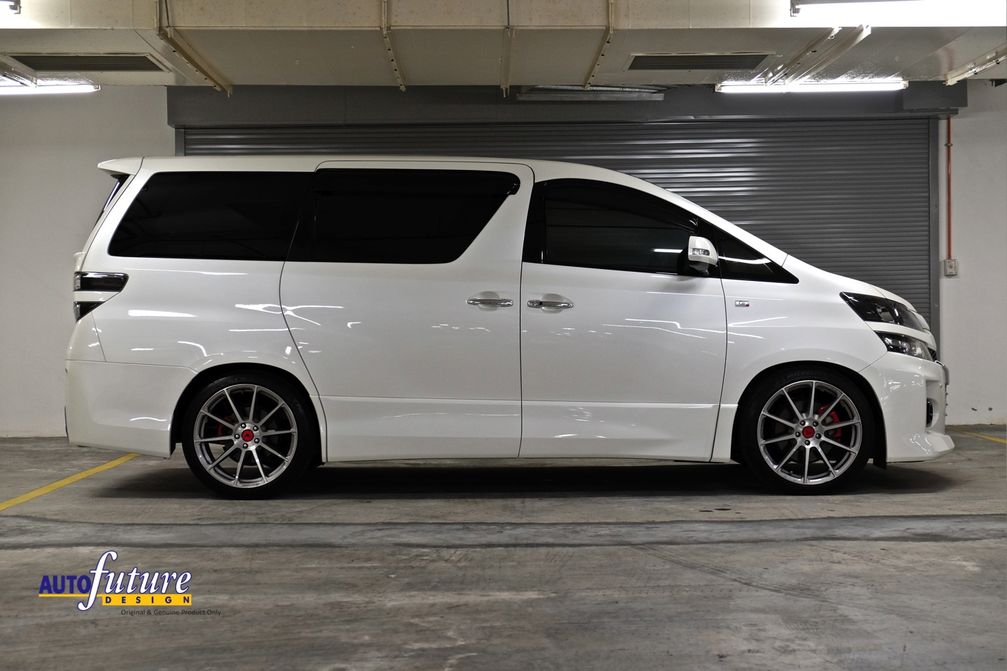 Toyota Pay By Phone >> Toyota Vellfire Equipped With Vorsteiner V-FF 102 Wheels ...