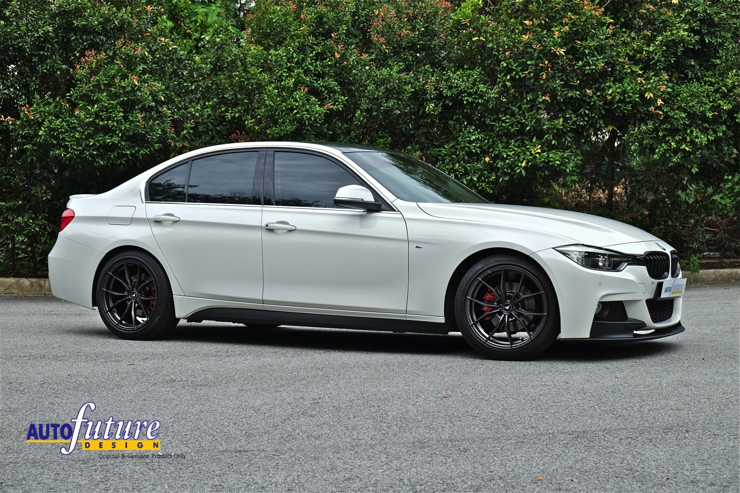 Center Of Attention Bmw F30 Fitted With Vorsteiner S V Ff 108 Wheel