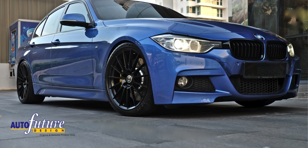 Dtm Looks Touring Car Dynamics Bmw 328i M Sport Equipped With Hre Performance Flowform Wheelore Autofuture Design Sdn Bhd