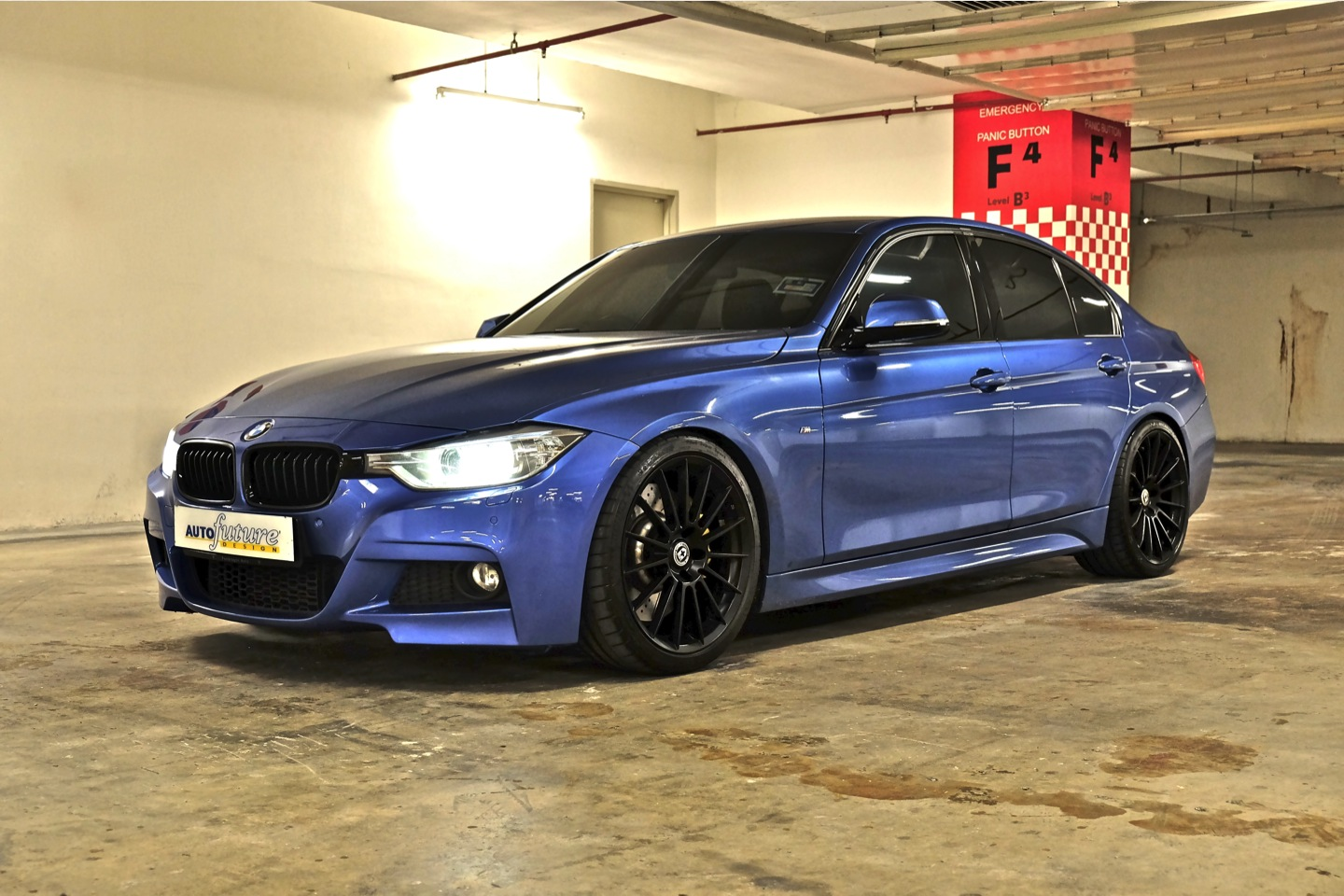 Copied Amp Slammed With Another 3 Series Bmw F30 Equipped