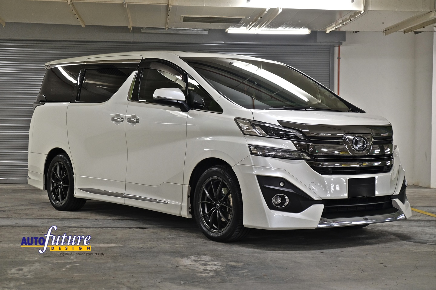 Toyota Pay By Phone >> Toyota Vellfire Equipped With Vorsteiner V-FF 108 Wheels ...