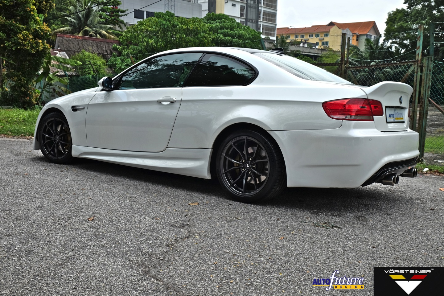 bmw e92 335i equipped with vorsteiner s latest v ff 108 wheels autofuture design sdn bhd. Black Bedroom Furniture Sets. Home Design Ideas