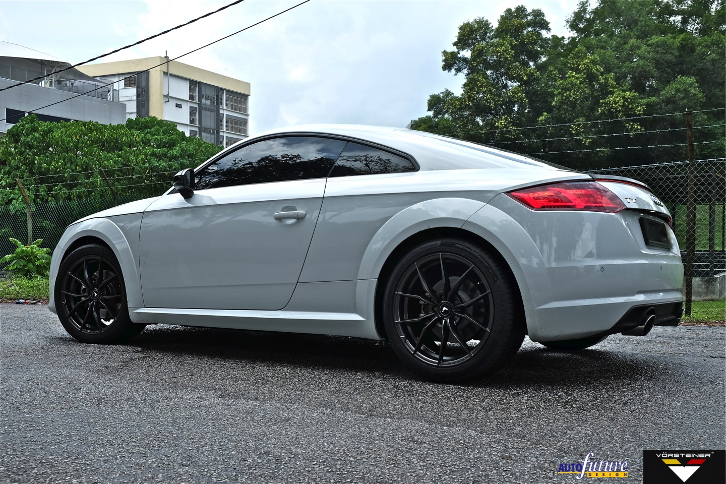 audi tt equipped with vorsteiner s v ff 108 wheels autofuture design sdn bhd. Black Bedroom Furniture Sets. Home Design Ideas