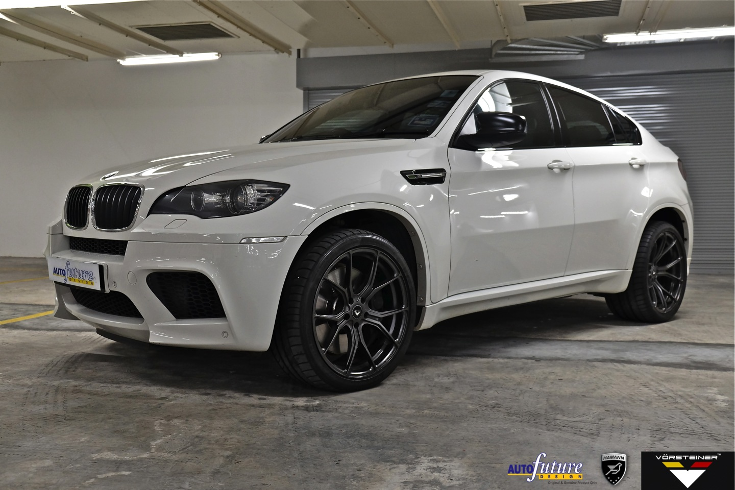 Bmw X6m With Hamann Modifications Amp Vorsteiner S V Ff 103