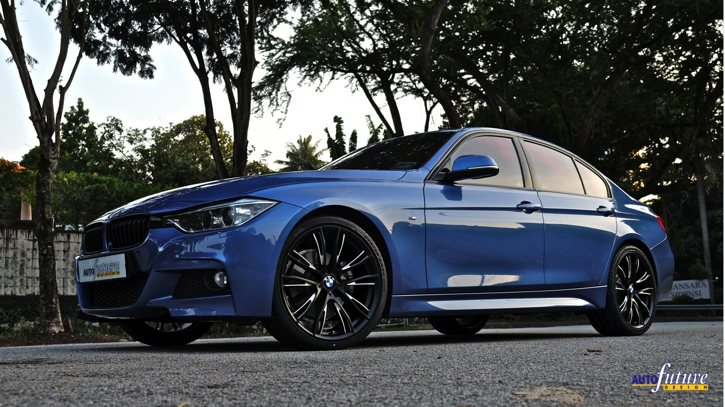 bmw 328i styled up with m performance products autofuture design sdn bhd. Black Bedroom Furniture Sets. Home Design Ideas