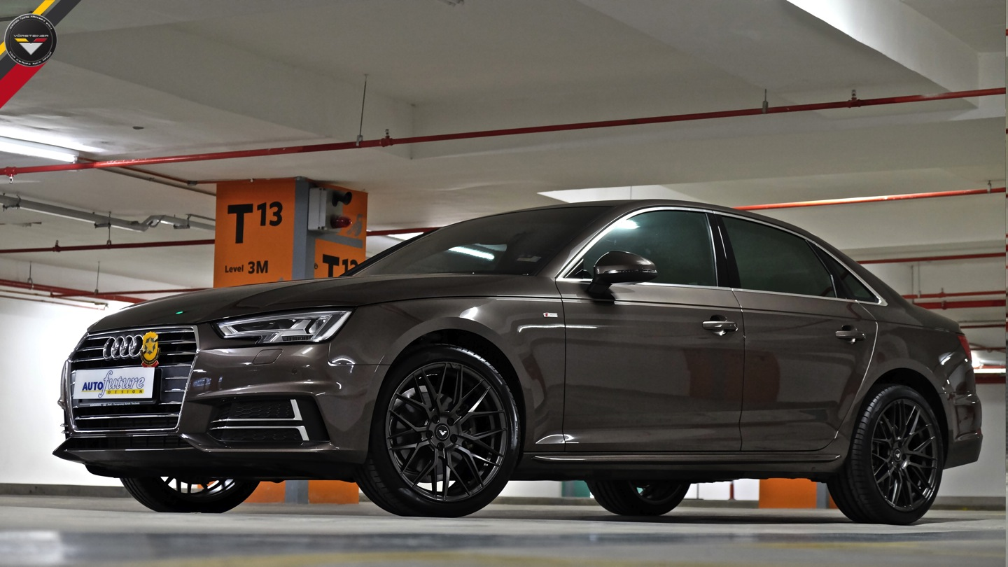 Audi A4 Equipped With Vorsteiner V Ff 107 Wheels Autofuture