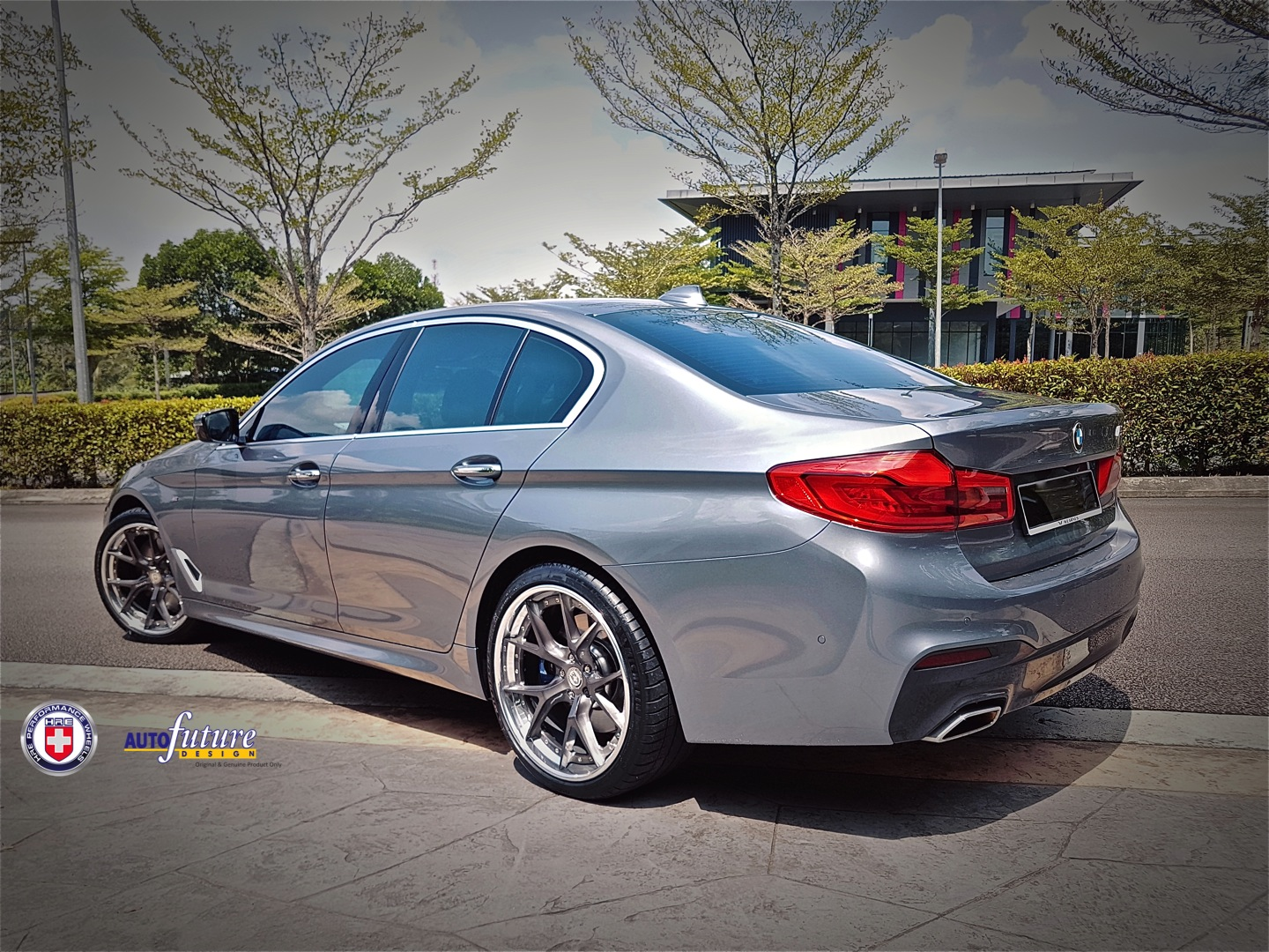 Custom Builds Hre Forged S101 Equipped On The Bmw G30 5 Series