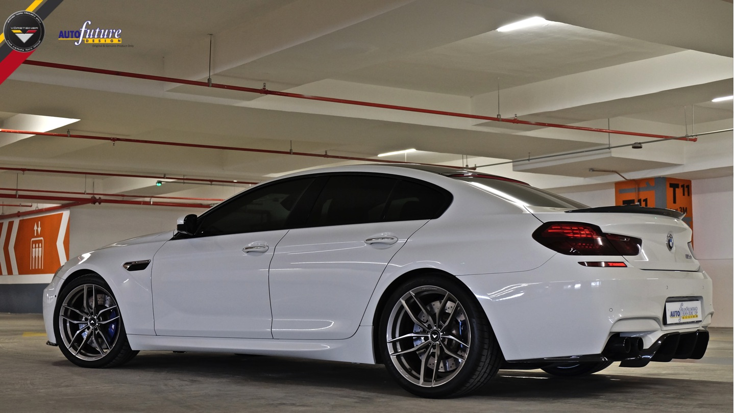 The Vorsteiner Vrs Program For The Bmw M6 Equipped With V Ff 105 Wheels Autofuture Design Sdn Bhd