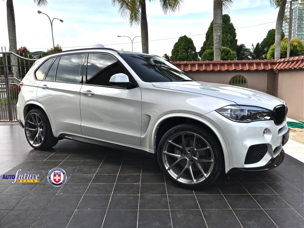 BMW X5 P101 Brushed Dark Clear 2
