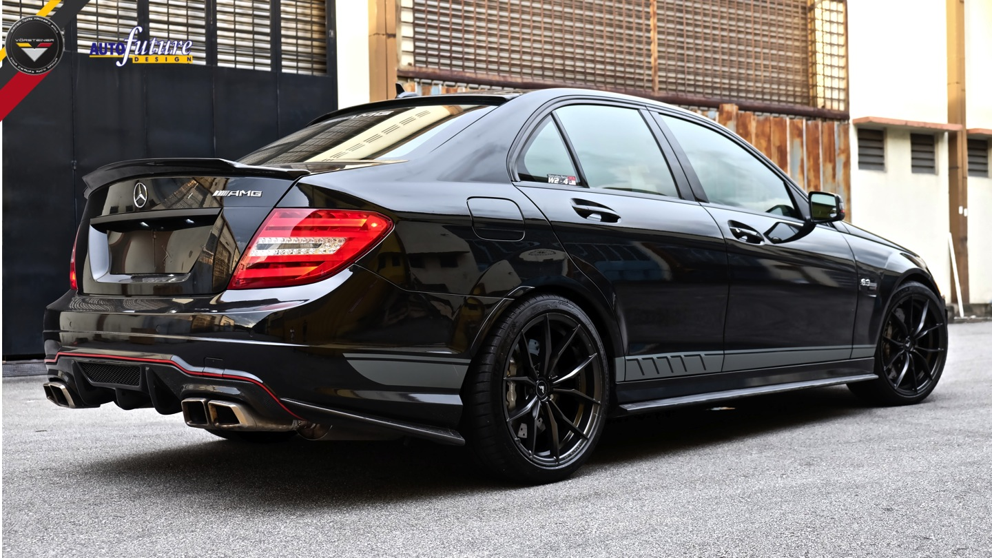 Mercedes benz c class running vorsteiner v ff 108 wheels for Mercedes benz 108
